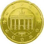 20 cents (other side, country Germany) 0.2