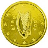 50 cents (other side, country Ireland) 0.5